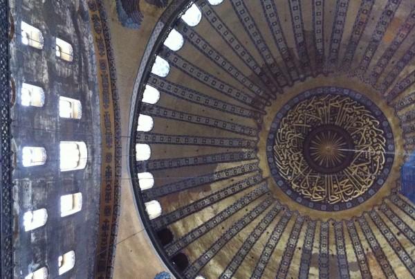 ISTANBUL-Hagia Sofia-Sainte Sophie-coupole-CF