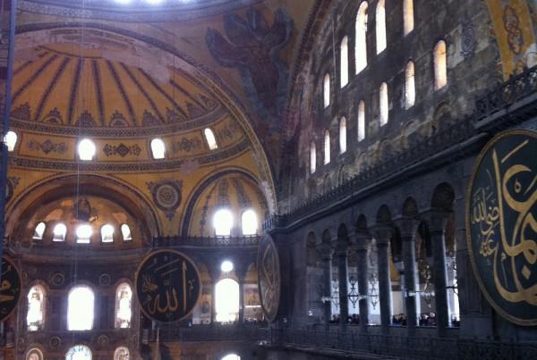ISTANBUL-Hagia Sofia-Sainte Sophie-interieur-CF