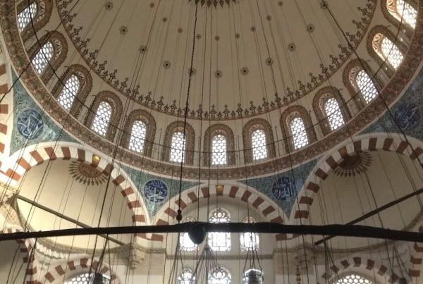 ISTANBUL-Mosquée Rüstem Pasa Camii-coupole-CF