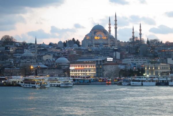 ISTANBUL-Mosquée Süleymaniye-panorama-CF