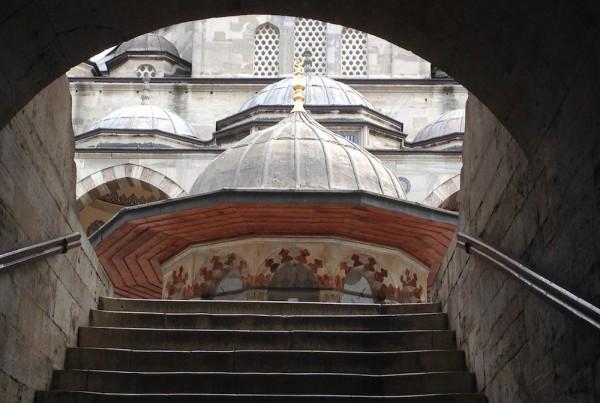 ISTANBUL-Mosquée Sokollu Camii-depuis la rue-CF