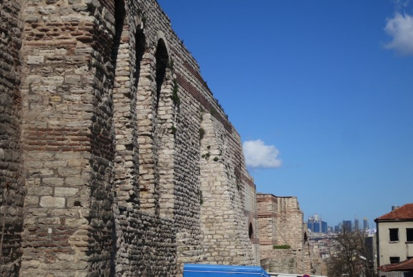 ISTANBUL-Quartier Balat Muraille de Constantinople-mur de Théodose-CF