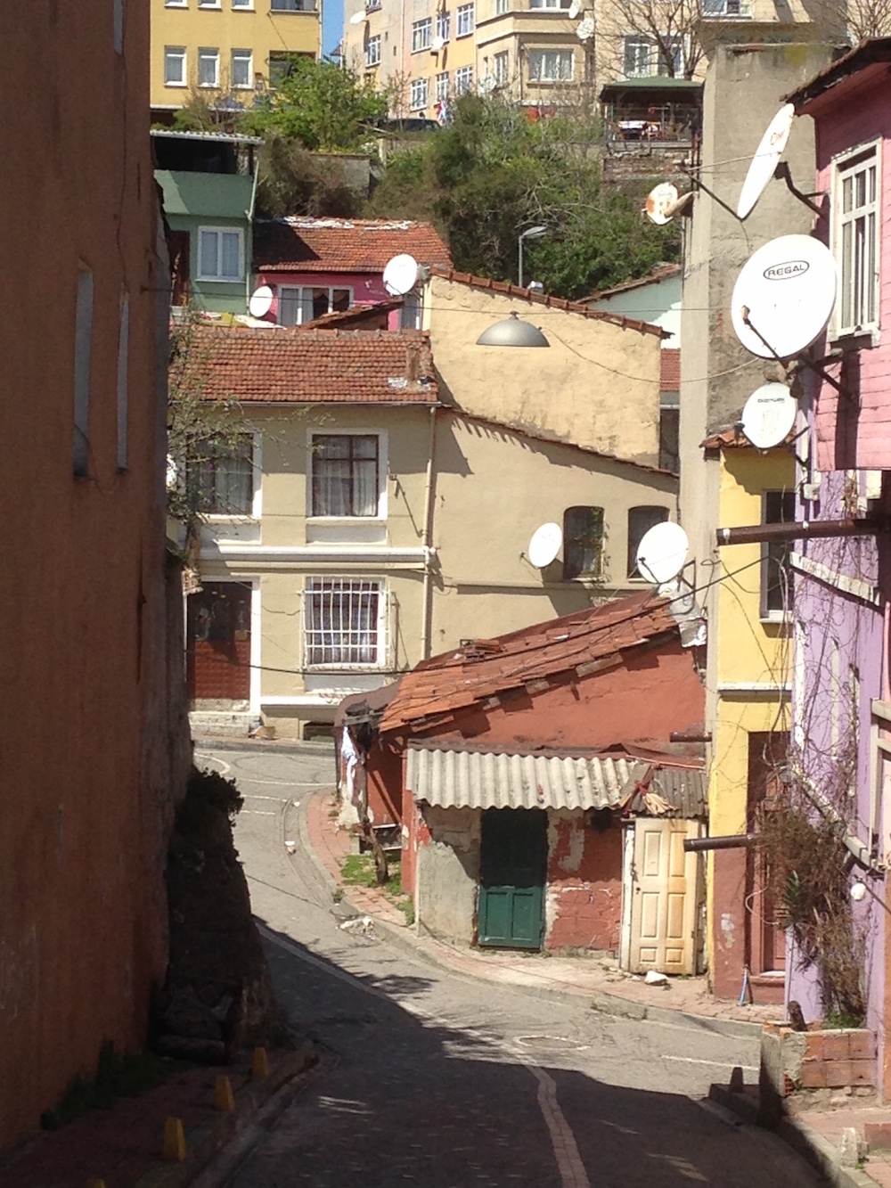 ISTANBUL-Quartier Balat vers Kariye Müzesi 1-CF