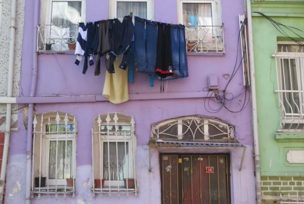 ISTANBUL-Quartier Balat vers Kariye Müzesi 2-CF